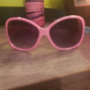 Pink Coach Glasses